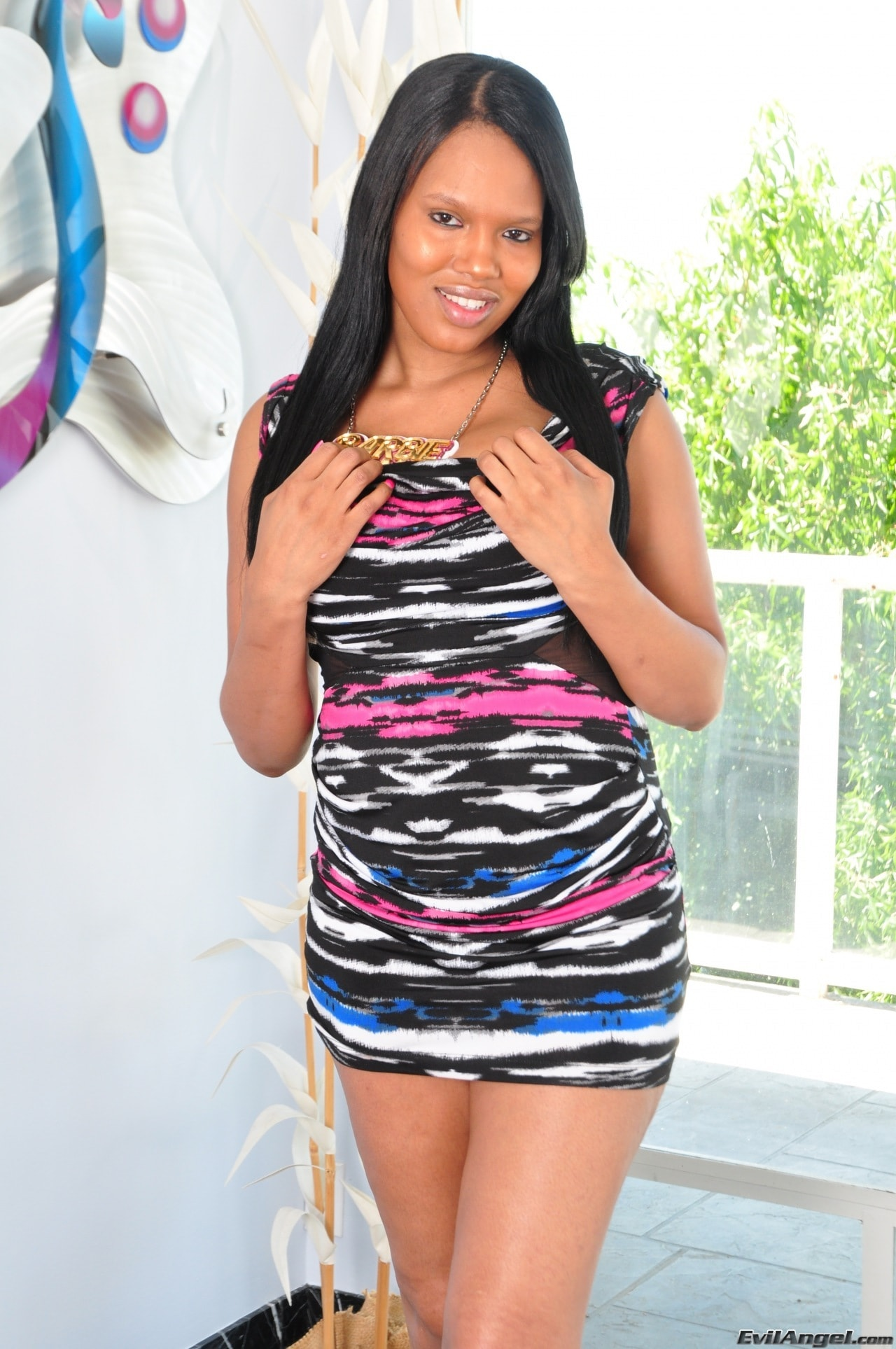 I Love Black Shemales 'Black Shemale Idol - The Auditions 02' starring Barbie C (Photo 1)