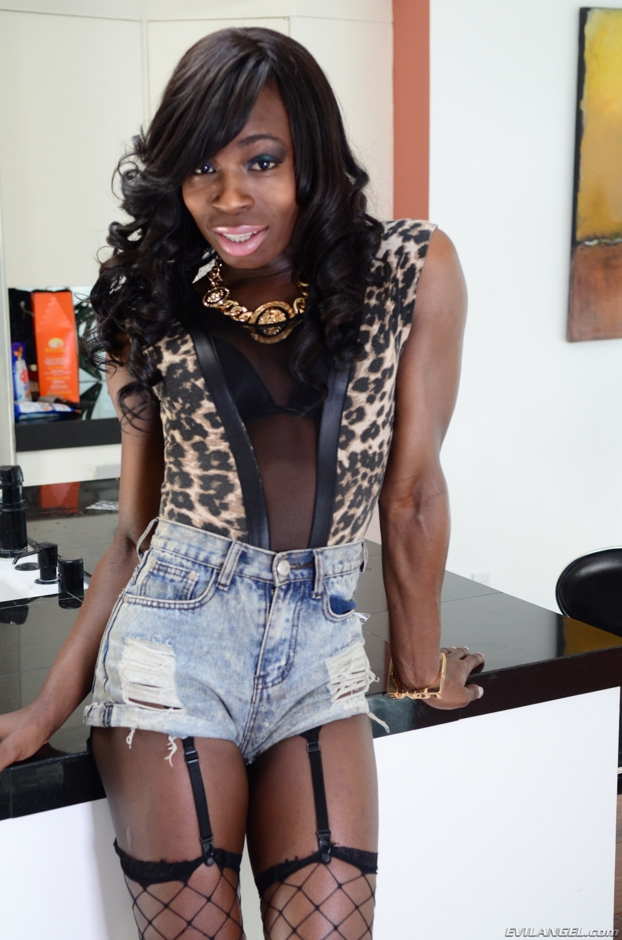 I Love Black Shemales 'Black Shemale Idol - The Auditions 04' starring Brii (Photo 1)