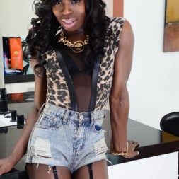 Brii in 'I Love Black Shemales' Black Shemale Idol - The Auditions 04 (Thumbnail 1)