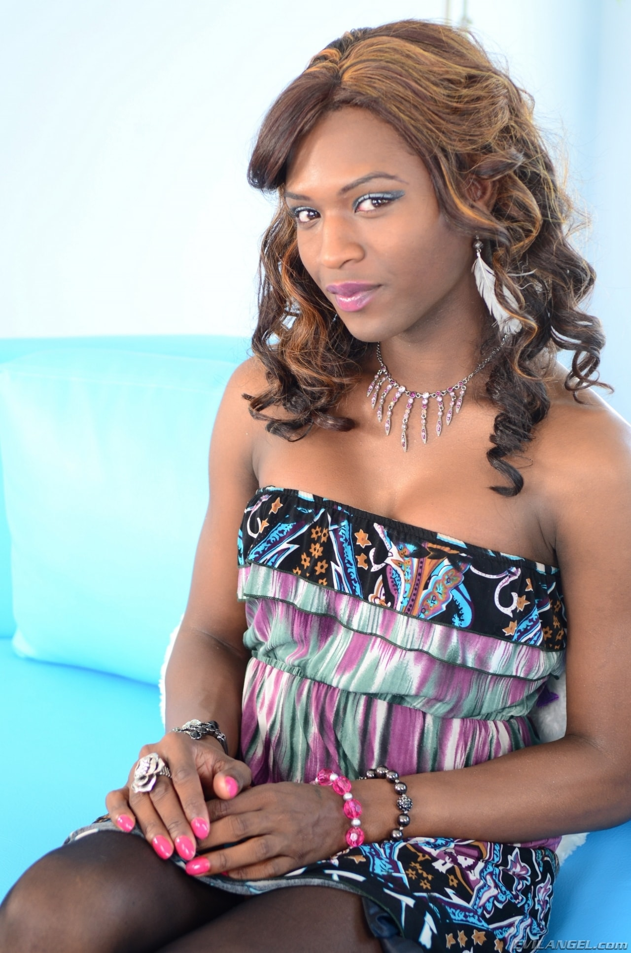 I Love Black Shemales 'Black Shemale Idol - The Auditions 04' starring Chanel Couture (Photo 1)