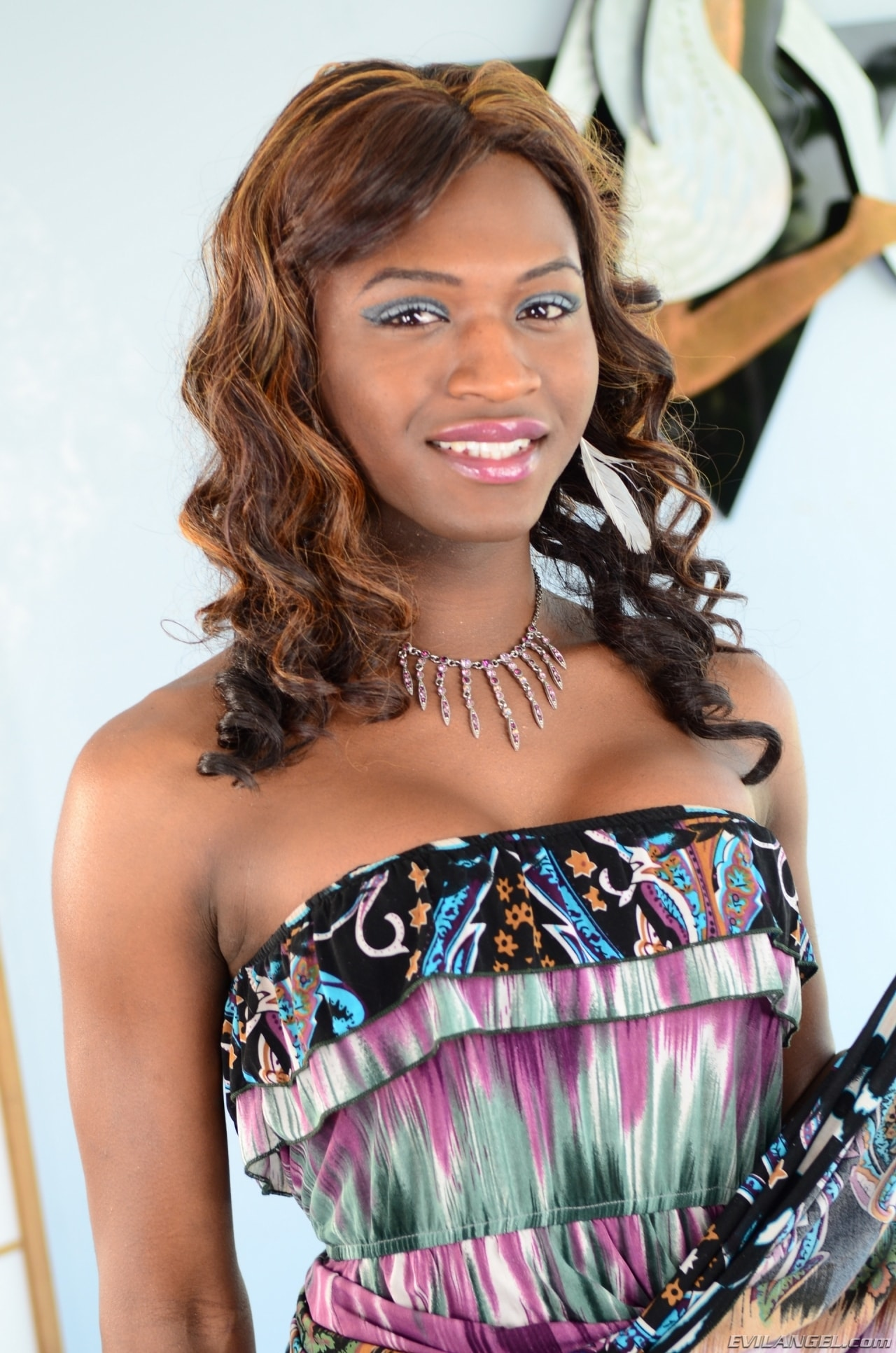 I Love Black Shemales 'Black Shemale Idol - The Auditions 04' starring Chanel Couture (Photo 13)