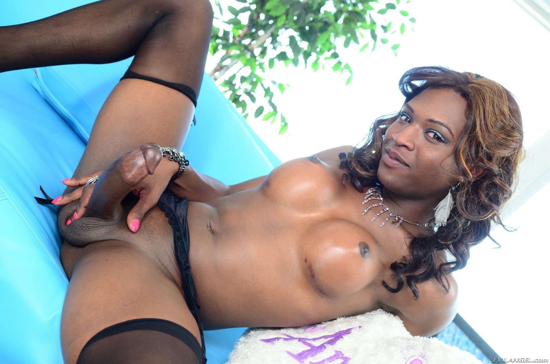 I Love Black Shemales 'Black Shemale Idol - The Auditions 04' starring Chanel Couture (Photo 78)