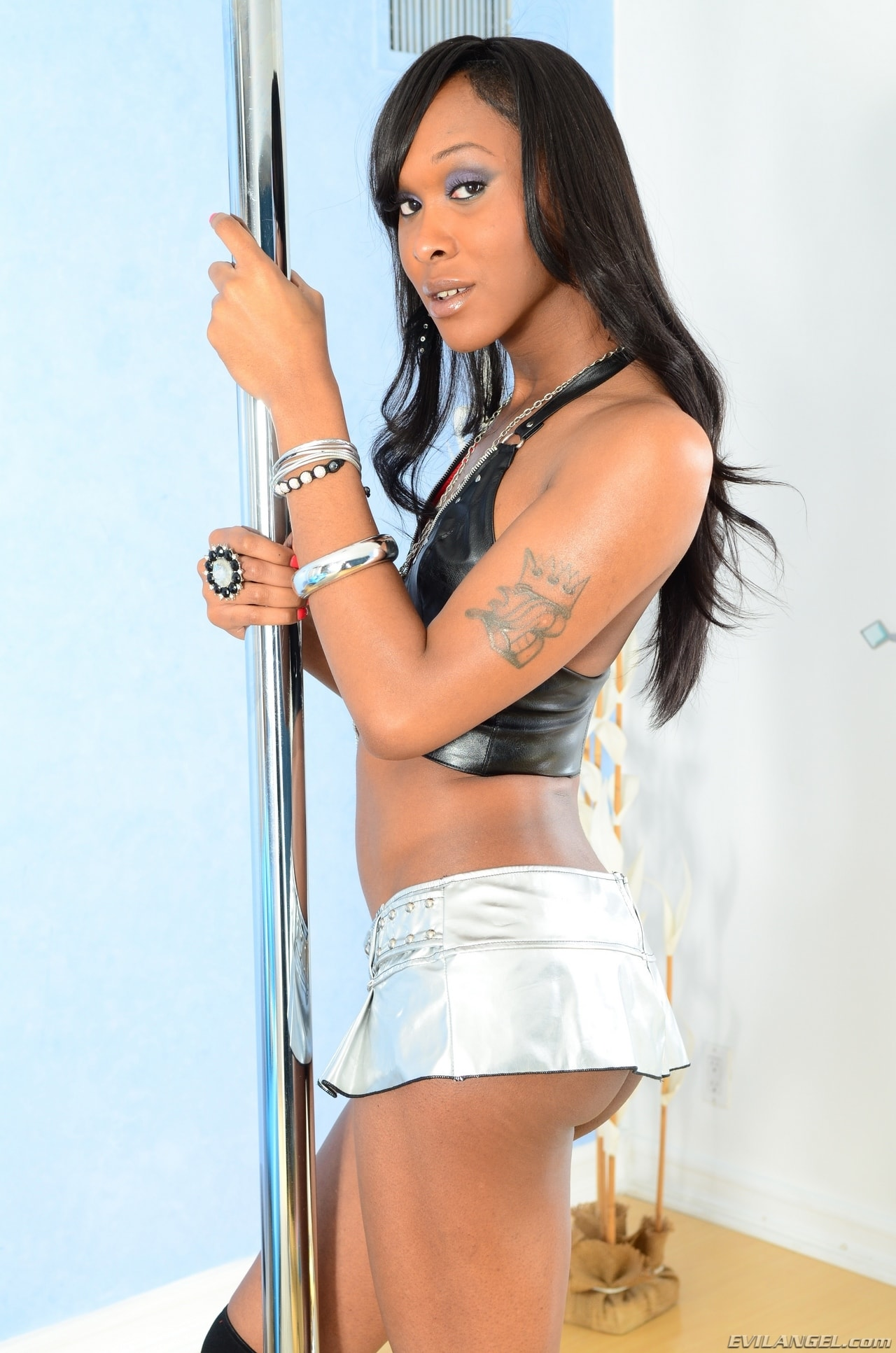 I Love Black Shemales 'Black Shemale Idol - The Auditions 03' starring Kayla Biggs (Photo 39)