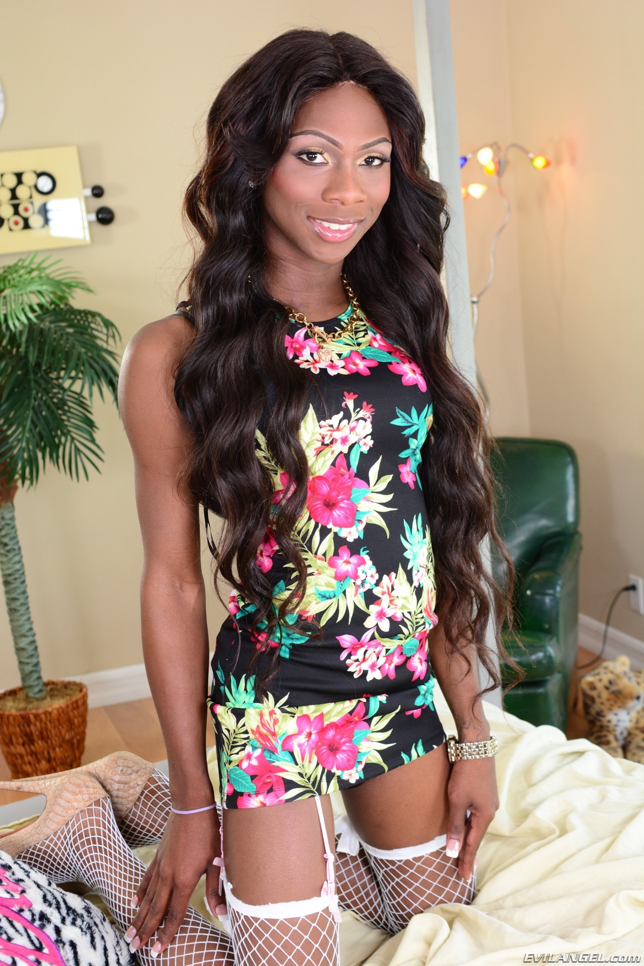 I Love Black Shemales 'The Next She-Male Idol 09' starring Kourtney Dash (Photo 1)