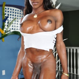 Natalia Coxxx in 'I Love Black Shemales' Black Shemale Idol - The Auditions (Thumbnail 27)