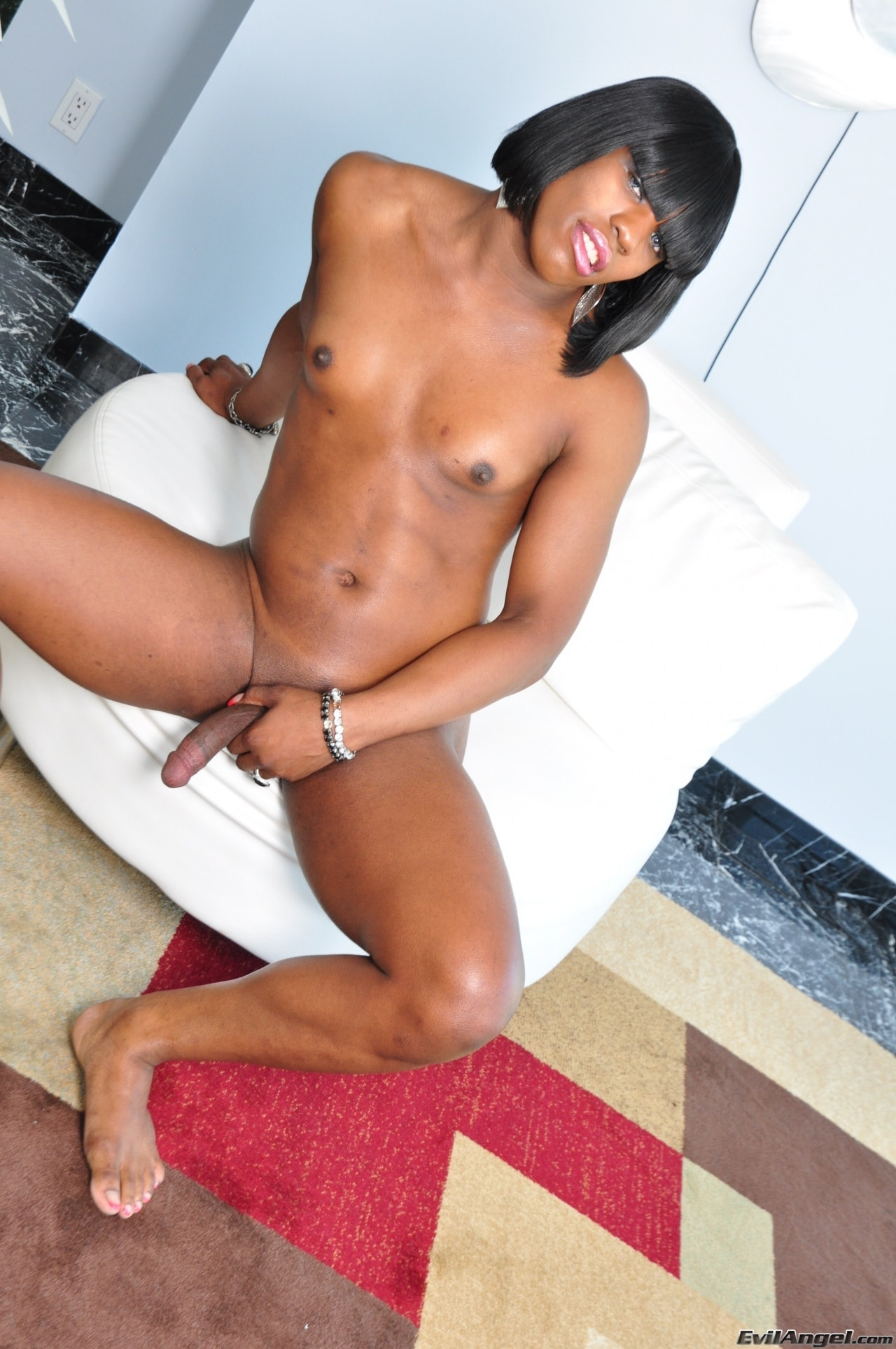 I Love Black Shemales 'Black Shemale Idol - The Auditions 02' starring Naughty Natasha (Photo 50)