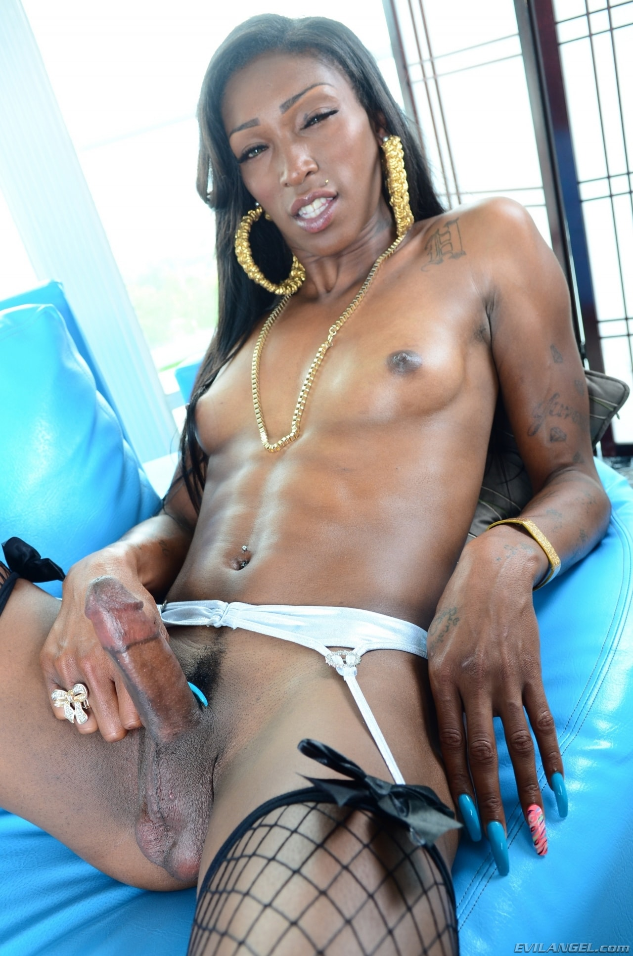 I Love Black Shemales 'Black Shemale Idol - The Auditions 04' starring Nyla Melrose (Photo 139)