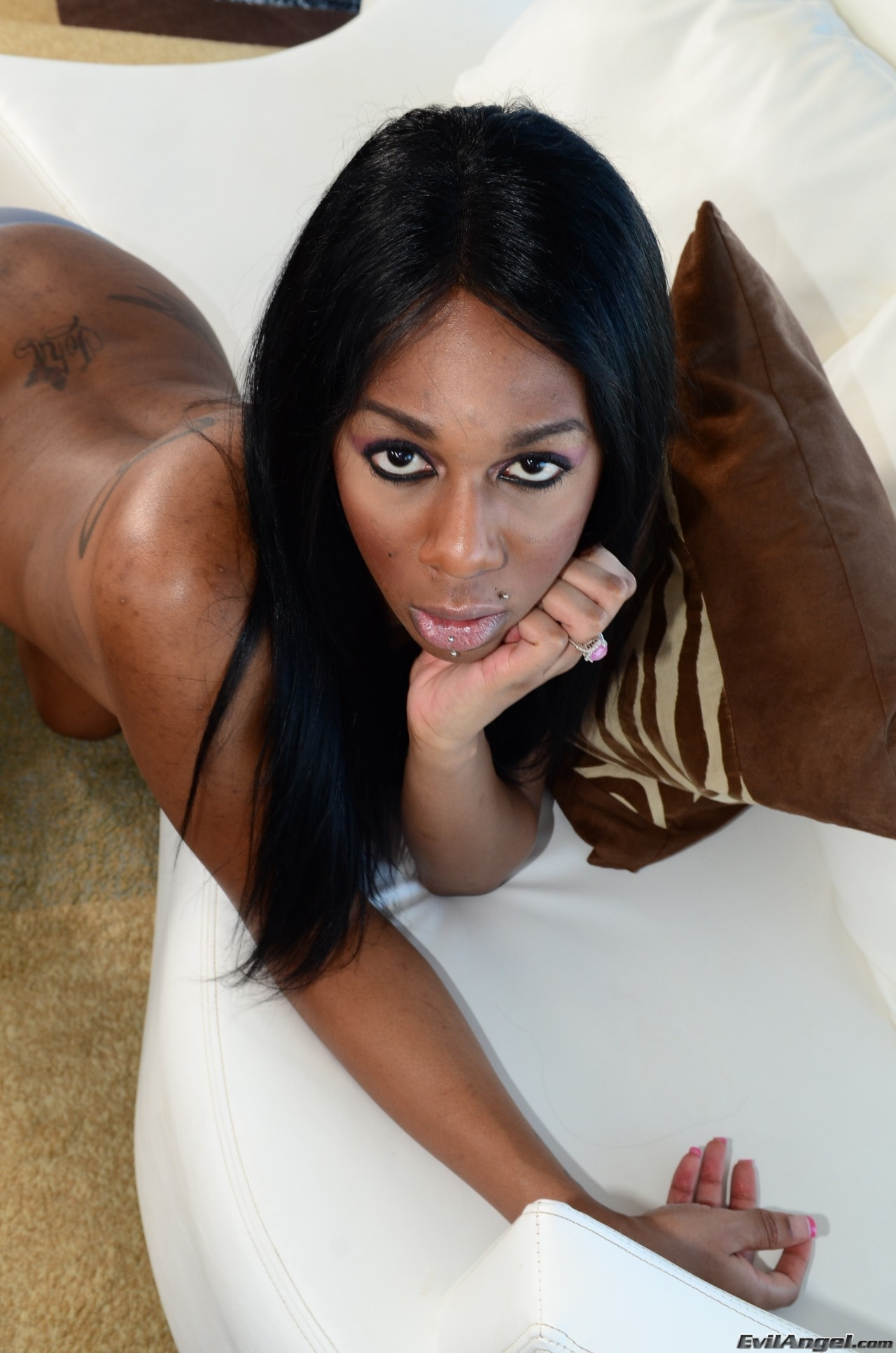 I Love Black Shemales 'Black Shemale Idol - The Auditions 02' starring Paris Pirelli (Photo 80)