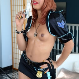 Sasha Strokes in 'I Love Black Shemales' She-Male Police 02 (Thumbnail 20)