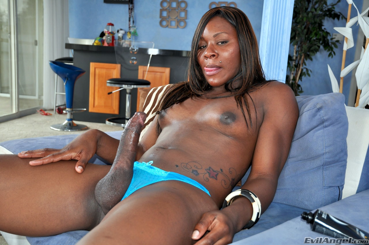 I Love Black Shemales 'Black Shemale Idol - The Auditions' starring Sex Kitten (Photo 20)