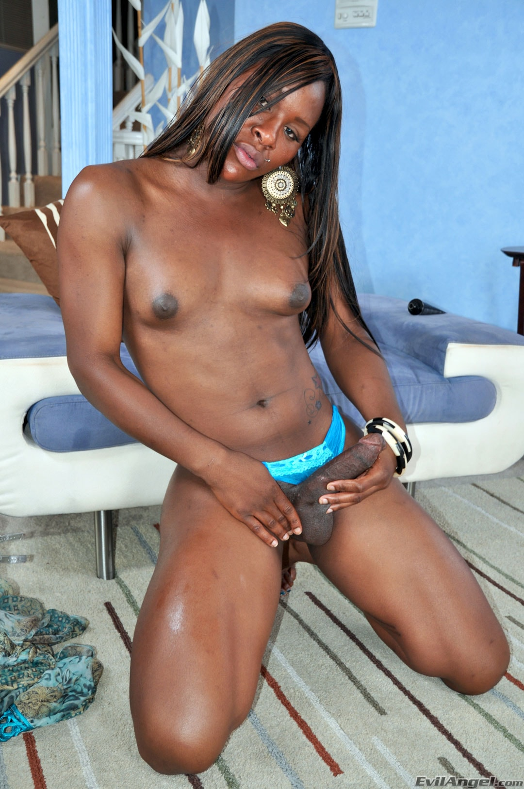 I Love Black Shemales 'Black Shemale Idol - The Auditions' starring Sex Kitten (Photo 24)