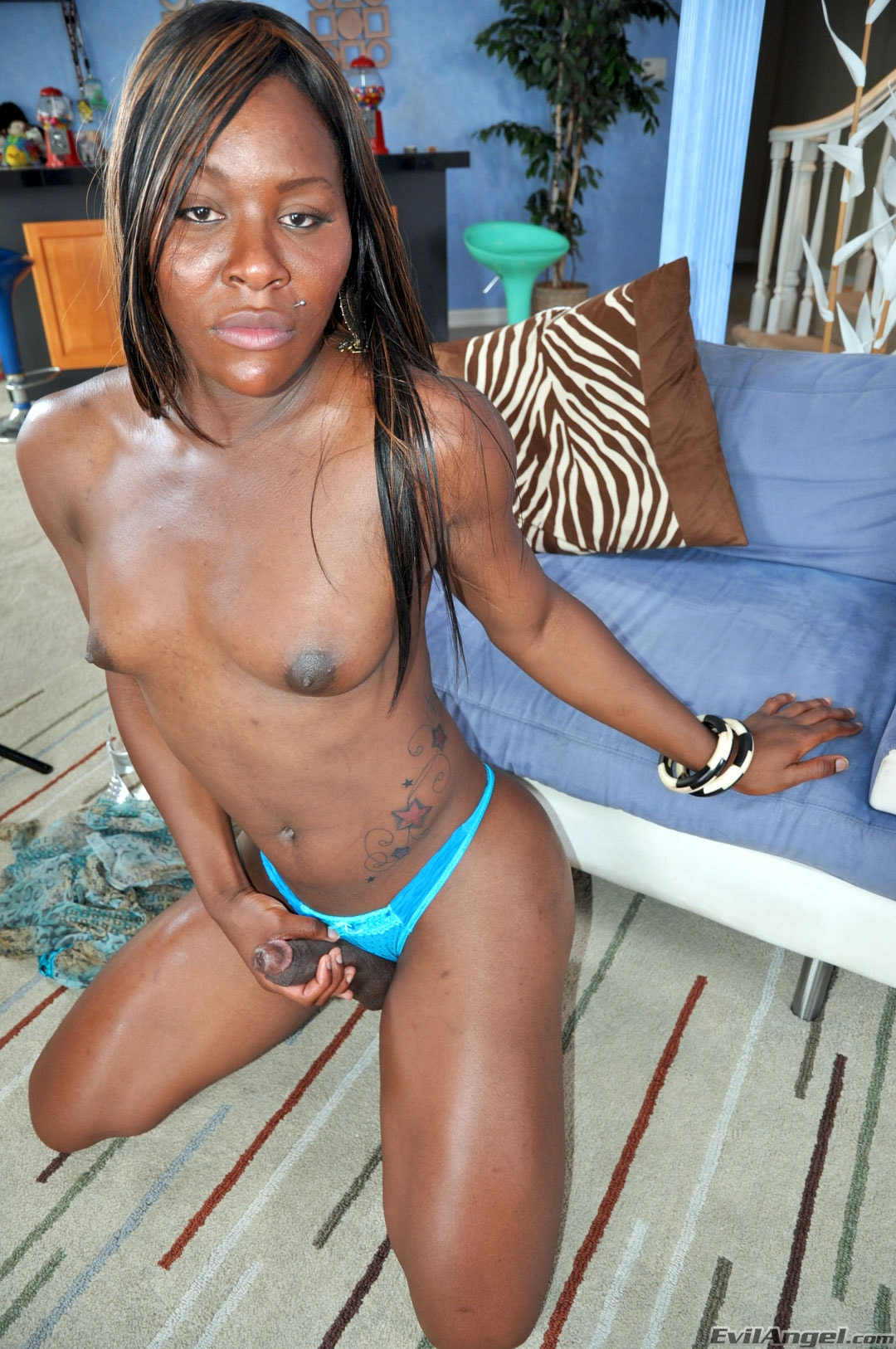 I Love Black Shemales 'Black Shemale Idol - The Auditions' starring Sex Kitten (Photo 26)
