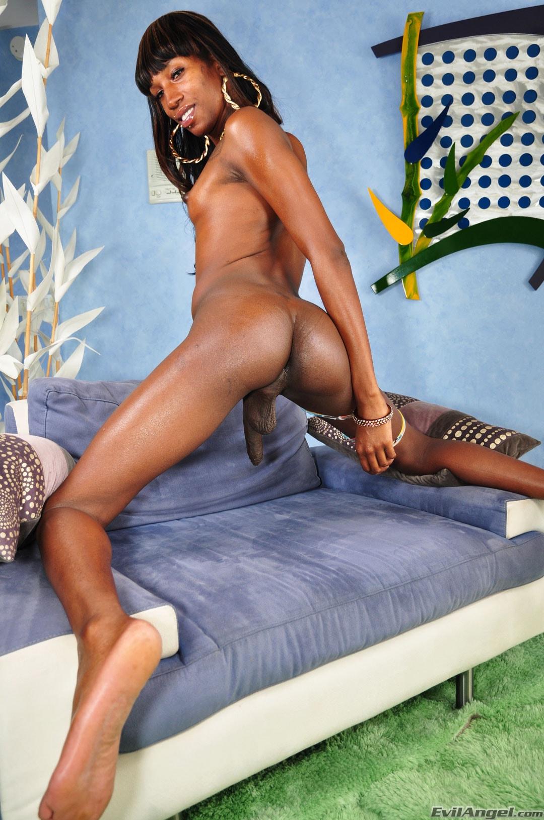 I Love Black Shemales 'Black Shemale Idol - The Auditions' starring Tameka (Photo 14)